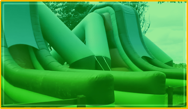 Drop Slides at Spooky World Halloween Fun-by-Day